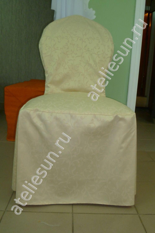 Как пошить чехлы на стулья со спинками